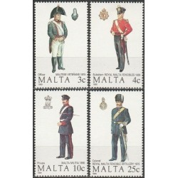 Malta 1989. Military uniforms