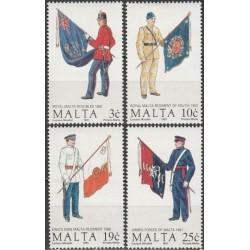 Malta 1991. Military uniforms