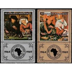 Ruanda 1974. Impresionistų...