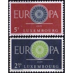 Luxembourg 1960. Stylised...
