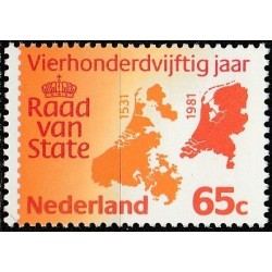 Netherlands 1981. Country maps