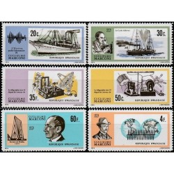 Rwanda 1974. Guglielmo Marconi