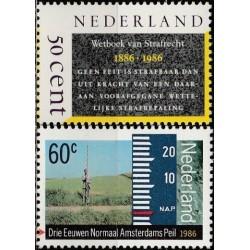 Netherlands 1986. Penal...