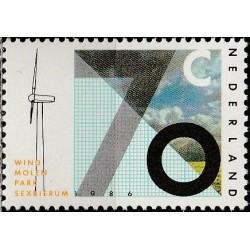 Netherlands 1986. Wind energy