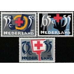 Netherlands 1987. Red Cross