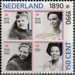 Nyderlandai 1990. Karalienės