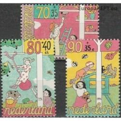 Netherlands 1994. Children...