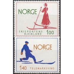 Norvegija 1975. Slidinėjimas