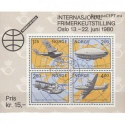 Norvegija 1979. Aviacijos...