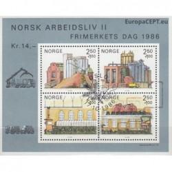 Norvegija 1986. Profesijos...
