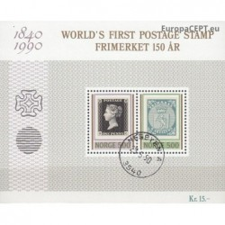 Norway 1990. Stamps on stamps