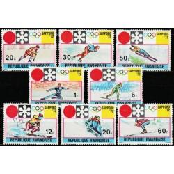 Rwanda 1972. Winter Olympic...