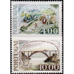 Portugal 1977. Rail transport