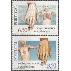 Portugal 1980. Anti-smoking...