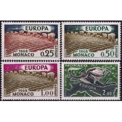 Monaco 1962. EUROPA:...