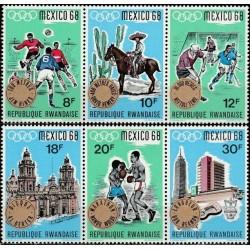 Ruanda 1968. Meksiko...