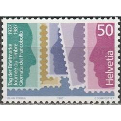 Switzerland 1987. Stamps Day