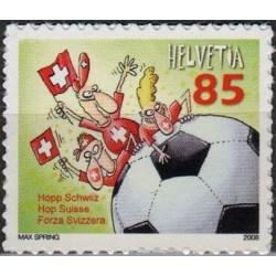 Šveicarija 2008. Futbolas