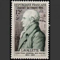 France 1954. Stamp Day