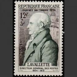 Prancūzija 1954. Pašto...