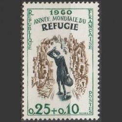 France 1960. World Refugee...