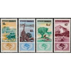Ruanda 1965. Tarptautiniai...