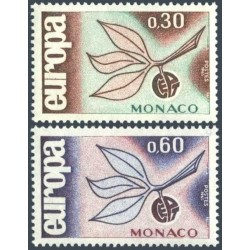 Monaco 1965. CEPT: 3 Leaves...