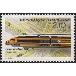 France 1984. Post transport