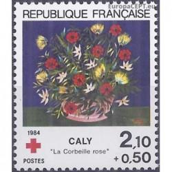 France 1984. Red Cross...