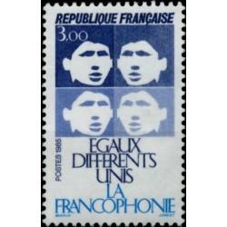 France 1985. Francophonie