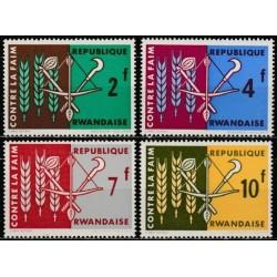Ruanda 1963. Kampanija...