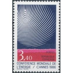 Prancūzija 1986. Energetika