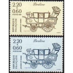 Prancūzija 1987. Pašto...