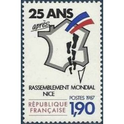 France 1987. Immigration...