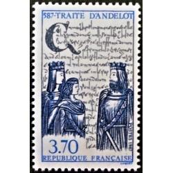 France 1987. Treaty of Andelot