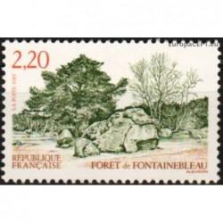 France 1989. Natural landscape