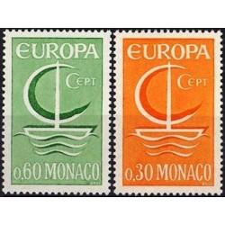 Monaco 1966. CEPT: Symbolic...