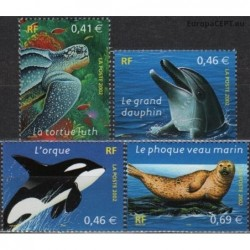 France 2002. Marine life