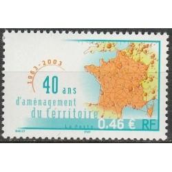 Prancūzija 2003. Žemėlapiai
