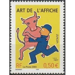 France 2003. Poster art