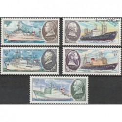 Rusija 1980. Laivai