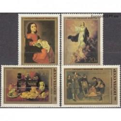 Rusija 1985. Ispanų tapyba