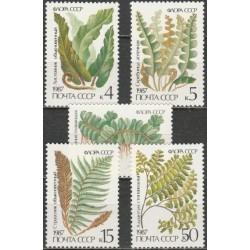 Russia 1987. Flora (fern)