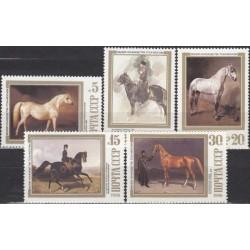 Russia 1988. Horses in...