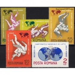 Romania 1967. Wrestling