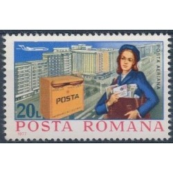 Rumunija 1977. Pašto istorija