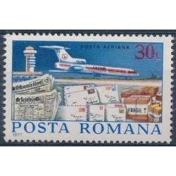 Romania 1977. Post history