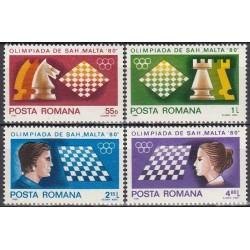 Rumunija 1980. Šachmatai
