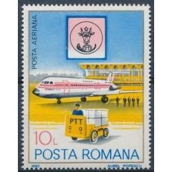 Romania 1983. Post history