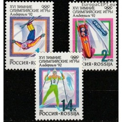 Russia 1992. Winter Olympic...